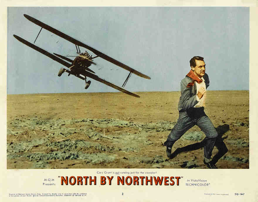 North by Northwest original poster