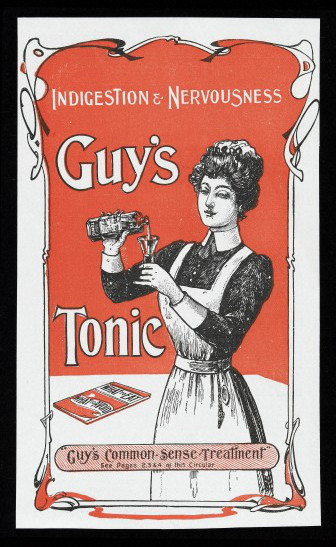 Online advertising: is it headed the way of Guy's Tonic? Credit: Wellcome Library, London.